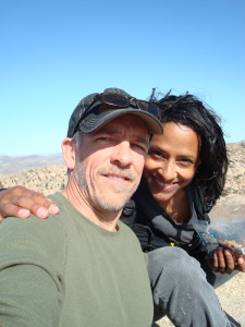 Anastasia & JC at Joshua Tree, 2010