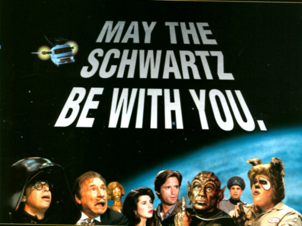 May The Schwartz Be With You Spaceballs